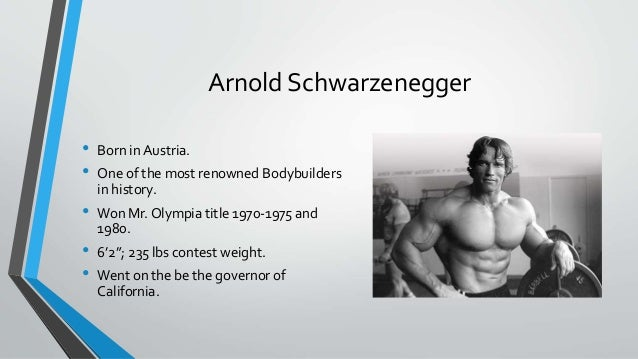 Bodybuilding and Steroids Powerpoint