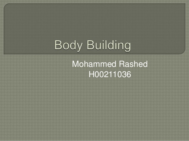 Mohammed Rashed H00211036
