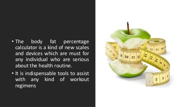 Body Fat Percentage Calculator For Weight Loss Program