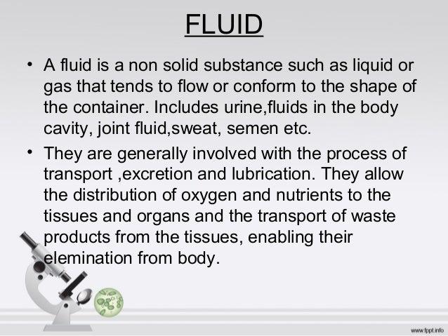 Body fluid analysis Slide 3