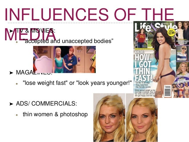 medias effect on body image and There's been no lack of speculation about the effects of social media on body image and eating disorder recovery on one hand, social media has fostered a diverse and vibrant body-positive and recovery community.