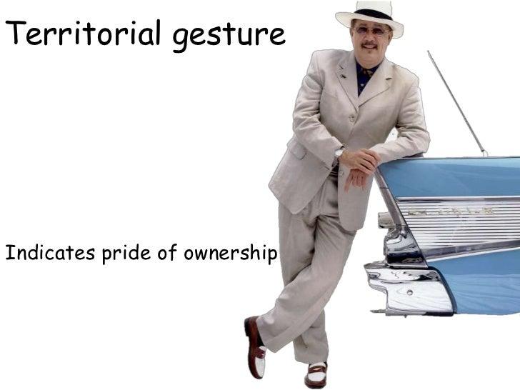 38 gestures of body language
