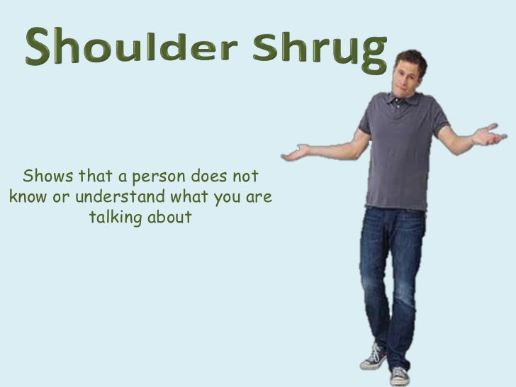 gestures body language and behavior
