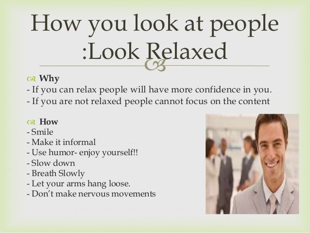how to get confident body language