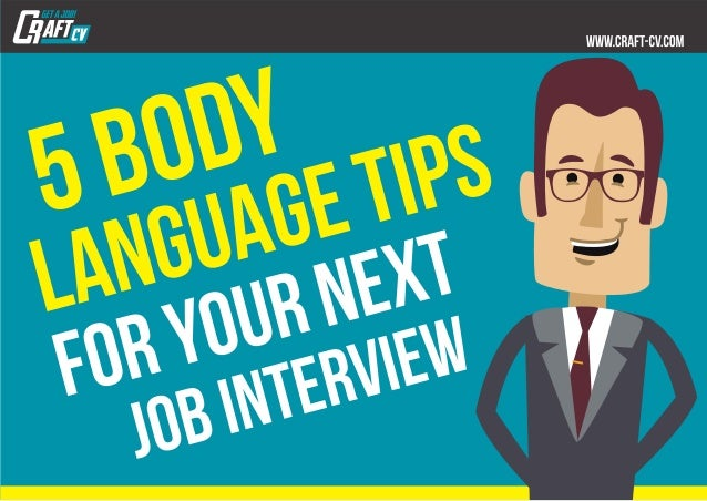 5body languagetips foryournext jobinterview
