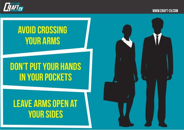 5 Body Language Tips for your Next Job Interview Slide 9