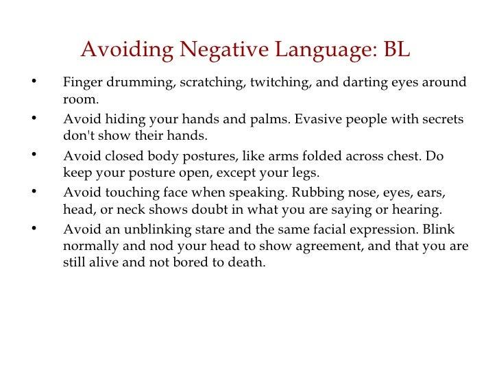 Body Language Presentation