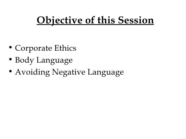 Body Language Presentation Slide 2