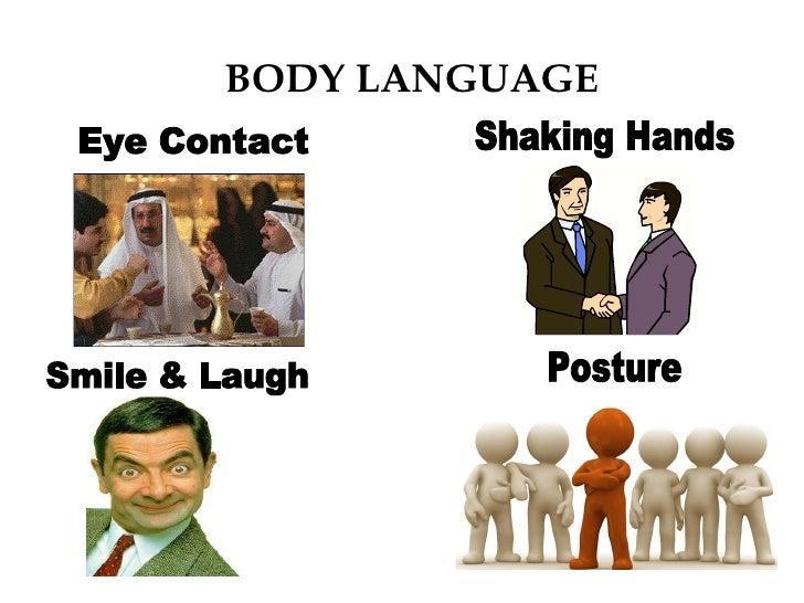 business presentation, body language the square creates