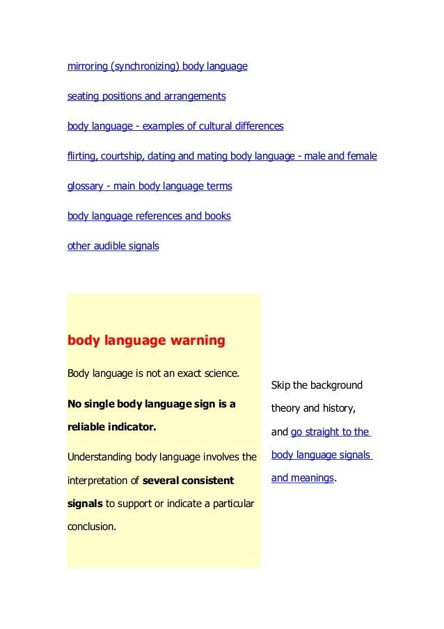 flirting moves that work body language meaning dictionary english language