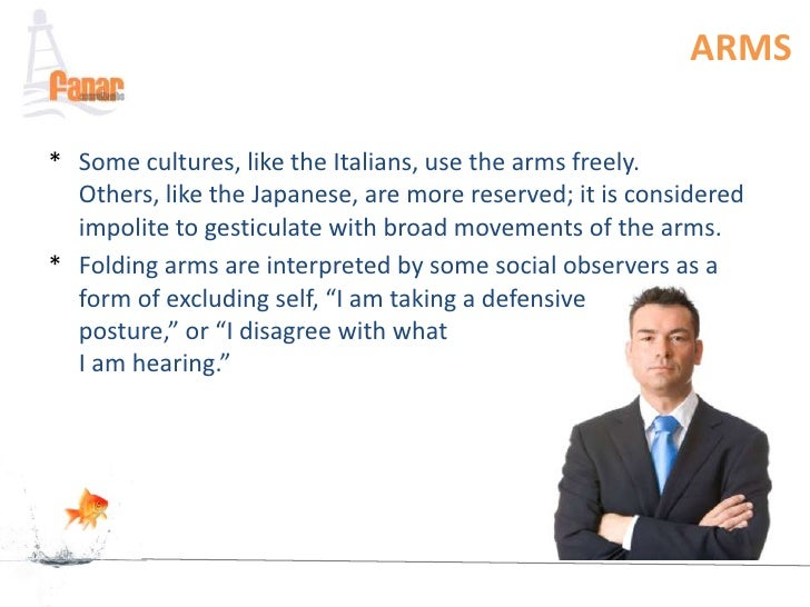 culture and body language Body language exists in every culture, but it is also diverse in every culture and is woven inextricably into our social lives however,.