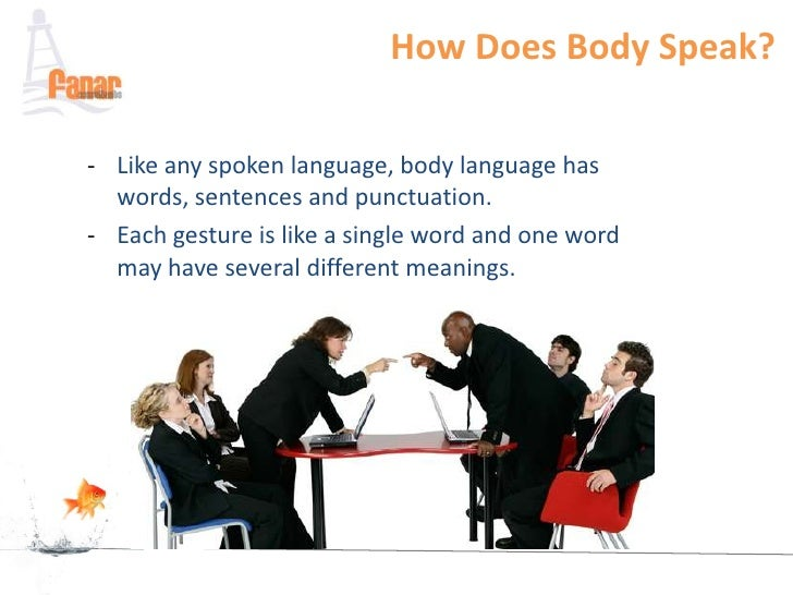 culture and body language Body language is the management of time, space, appearance, posture, gesture, touch, facial expression, eye contact, and voice  from the silent language of leaders: how body language can help.