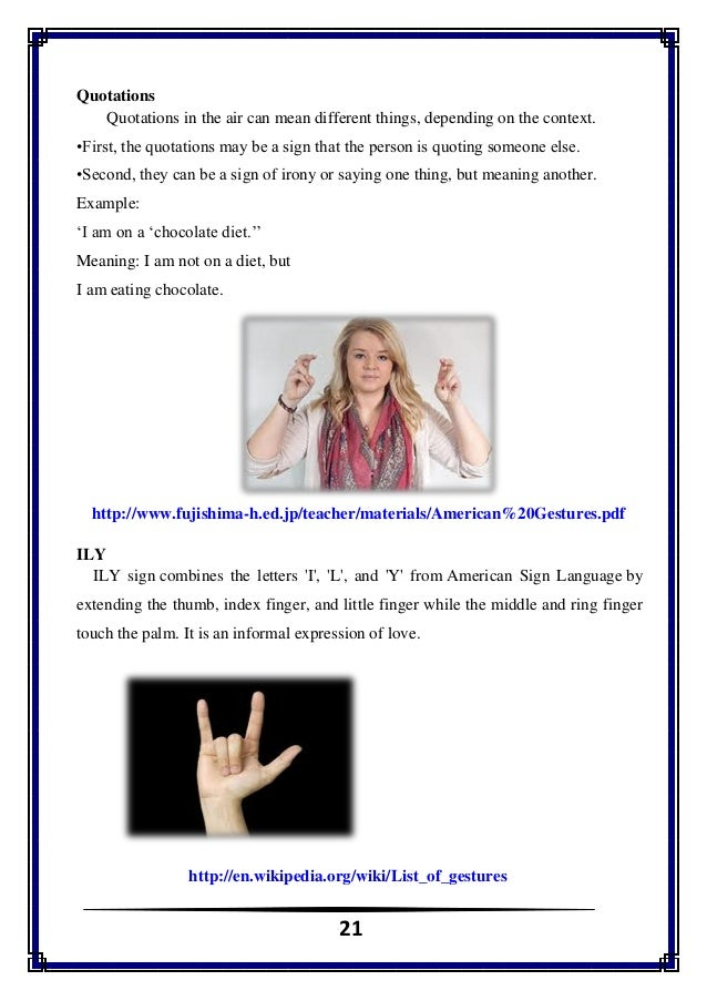 how to read body language with pictures pdf
