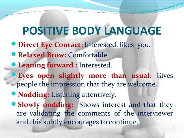 7 Essential Positive Body Language Techniques - Bon Vita  |Positive Body Language