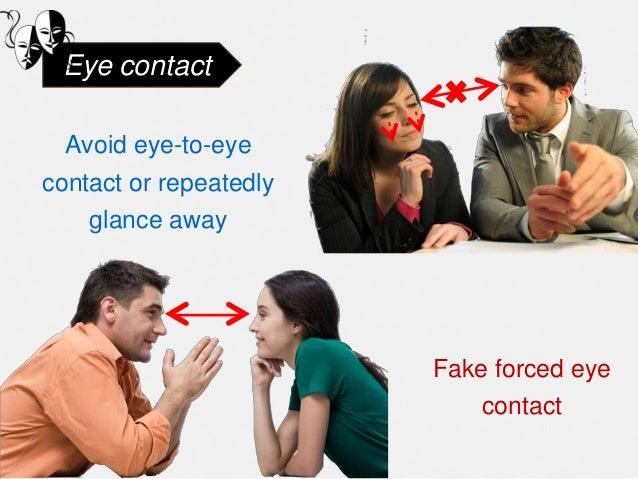 Body language of liars