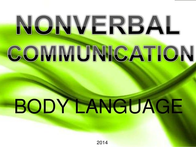 BODY LANGUAGE 2014