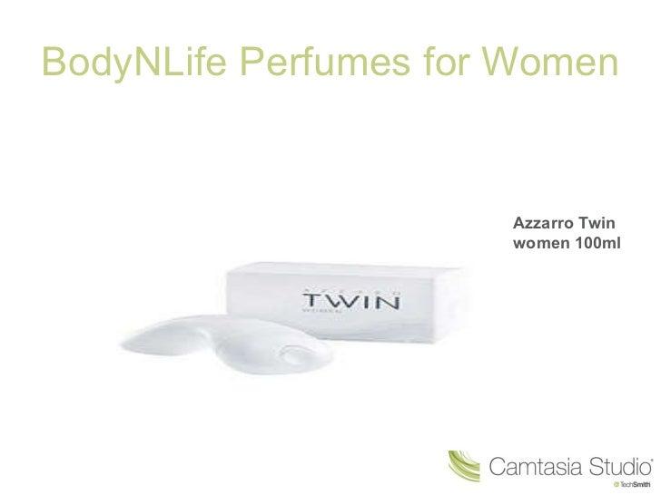 BodyNLife Perfumes for Women Azzarro Twin women 100ml