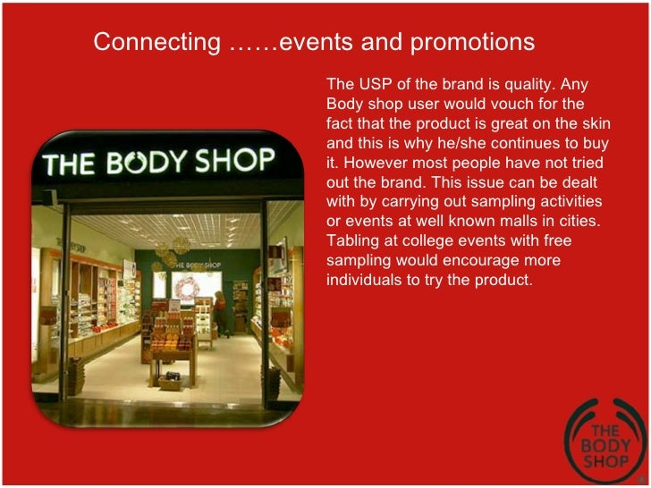 The body shop international case study essay