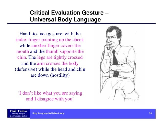 disadvantage of body language Advantages of face to face communication: body language an authority on body language, james borg says that human communication consists of 93% body language and paralinguistic cues, while only 7% consists of words body language speaks a lot louder than words you can gain a better understanding of how a candidate or client is.