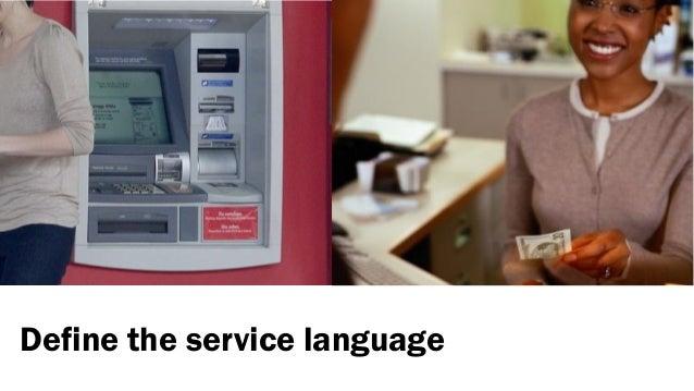 Define the service language