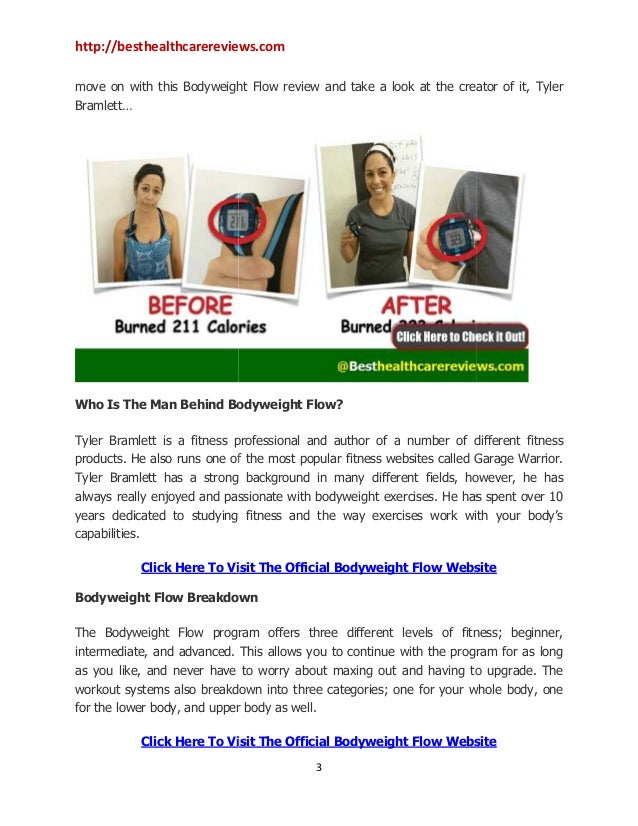 Bodyweight flow review can this program help you achieve