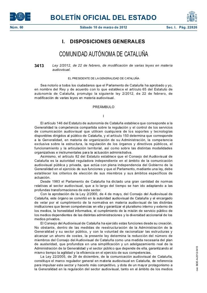 BOLETÍN OFICIAL DEL ESTADONúm. 60                                 Sábado 10 de marzo de 2012                            ...