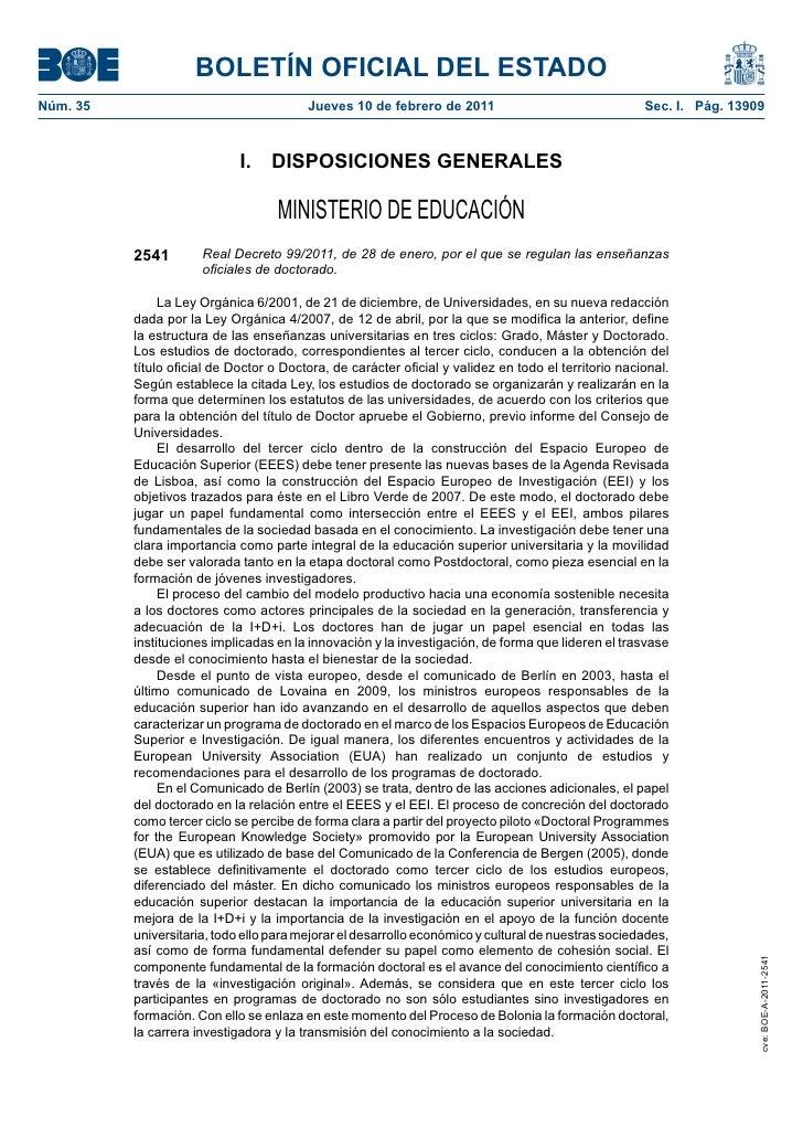BOLETÍN OFICIAL DEL ESTADONúm. 35                                  Jueves 10 de febrero de 2011                           ...