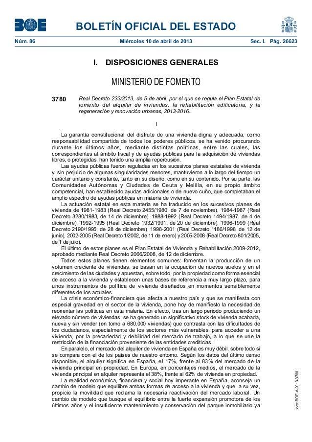 BOLETÍN OFICIAL DEL ESTADONúm. 86                                Miércoles 10 de abril de 2013                          ...