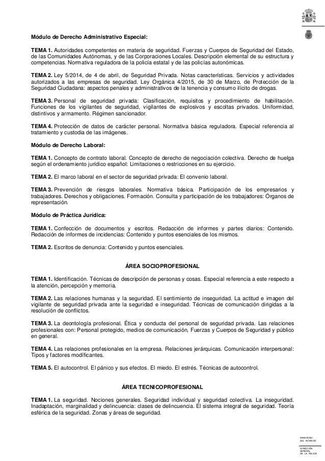 Boe 3 2016 for Boe ministerio del interior