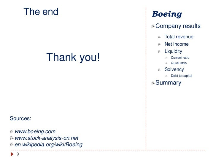 stock analysis boeing company