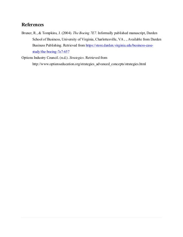 boeing 7e7 case study darden