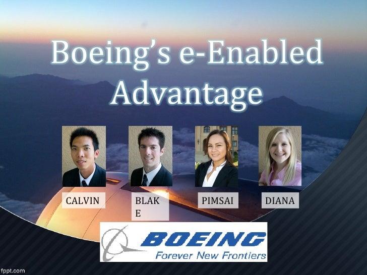 boeing case analysis Strategic management analysis on b- 777 aircraft from case 48 philip condit and the boeing 777 discusses from design and development to production and sales.