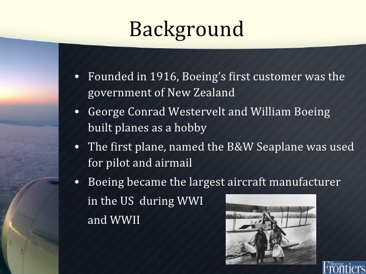 The Boeing 7E7 Case Solution