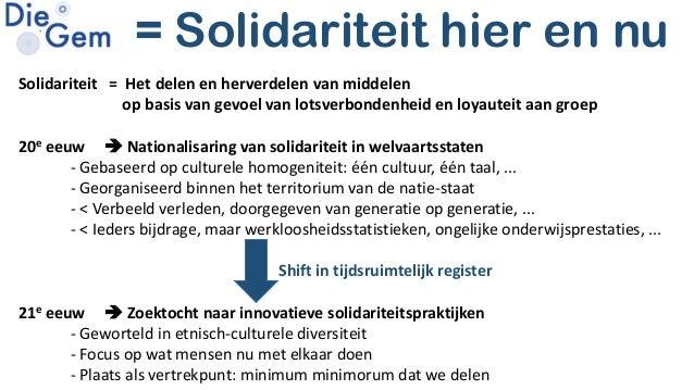 Presentatie boekvoorstelling 'Solidariteit in superdiversiteit' Slide 3
