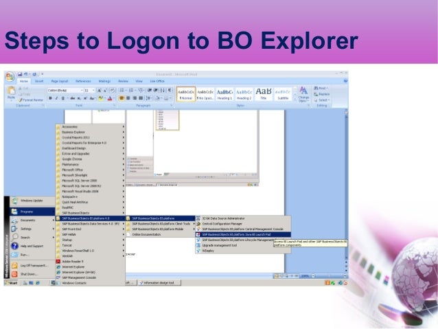 Bo explorer