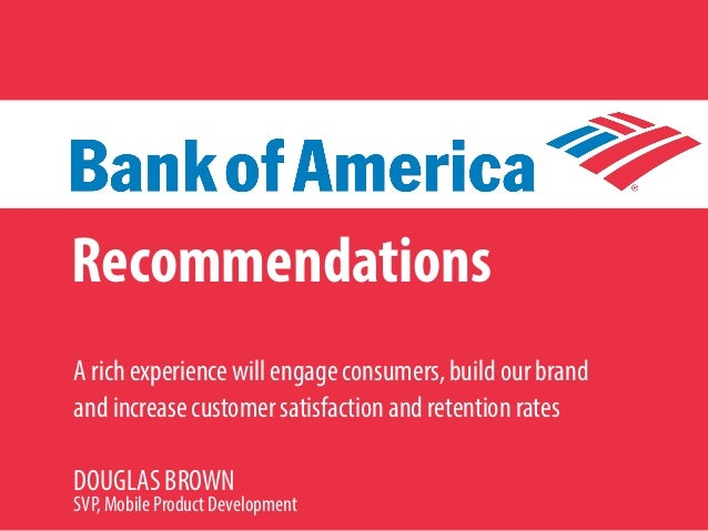 case analysis bank of america mobile Free essay: case analysis: bank of america: mobile banking company overview: bank of america is the largest us bank founded in 1904, it has expanded through.