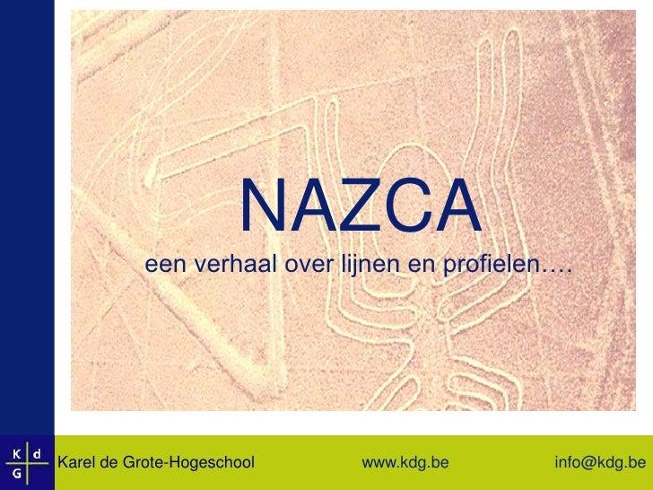 NAZCA : een verhaal over lijnen en profielen ...