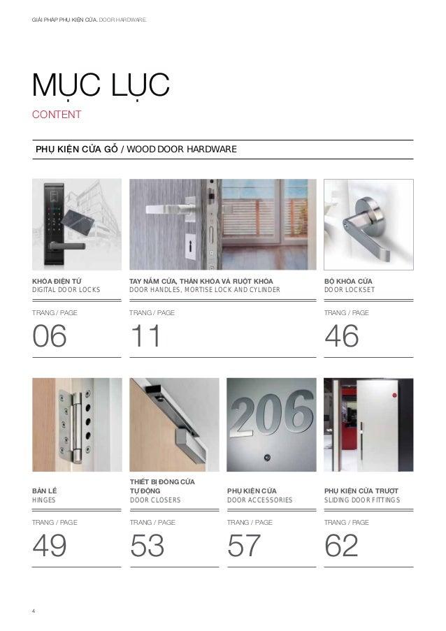 Catalogue Hafele Phụ Kiện Cửa Hafele 2017