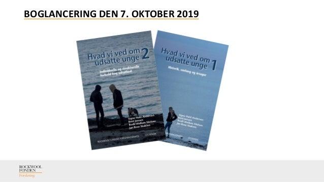 BOGLANCERING DEN 7. OKTOBER 2019
