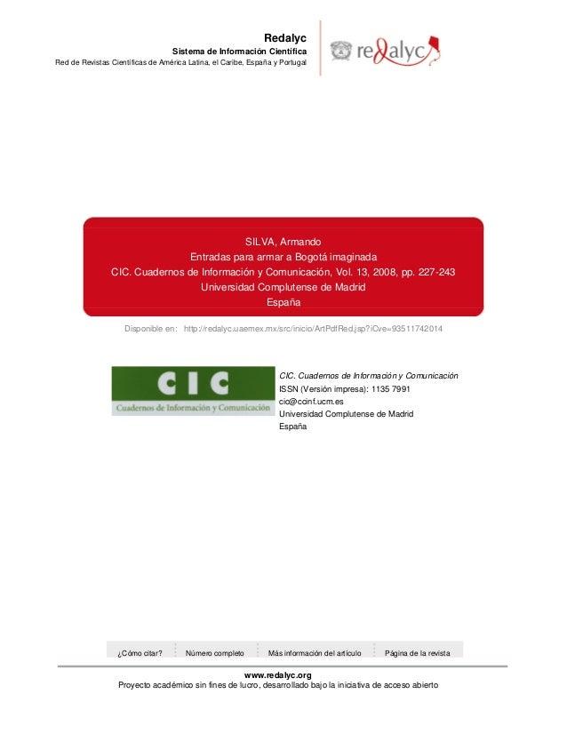 Disponible en: http://redalyc.uaemex.mx/src/inicio/ArtPdfRed.jsp?iCve=93511742014 Redalyc Sistema de Información Científic...