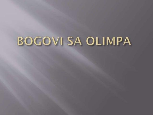 Bogovi sa olimpa