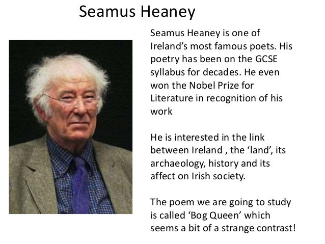 tates avenue seamus heaney