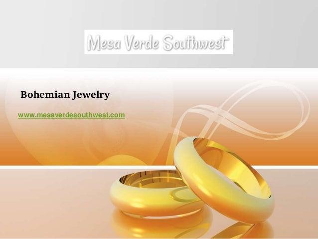 Bohemian Jewelry www.mesaverdesouthwest.com