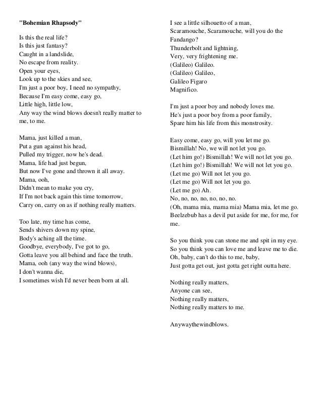 Fandango song lyrics