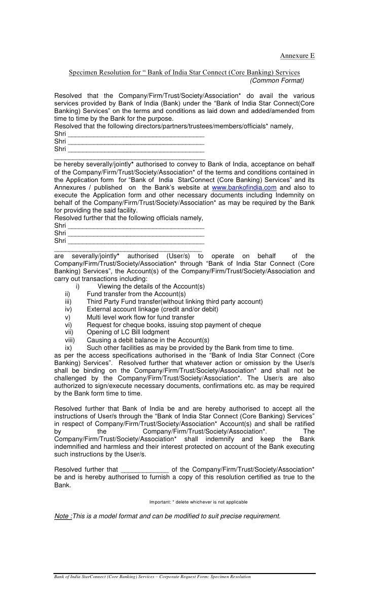 Boi internet banking corporate form corporate request form specimen annexure 17 falaconquin