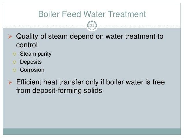 Boiler Feed Water Treatment ~ Boiler utility