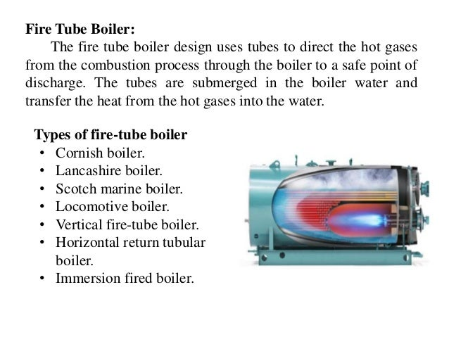 Fire Tube Boiler: The fire tube boiler design uses tubes to direct the hot gases from the combustion process through the b...
