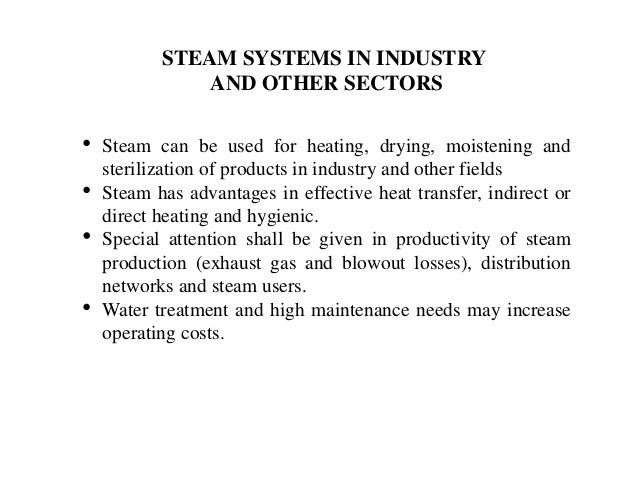 LEAKAGES • Leaks in steam systems o waste continuously energy (24/7) o reduce network pressure and energy flow o waste val...