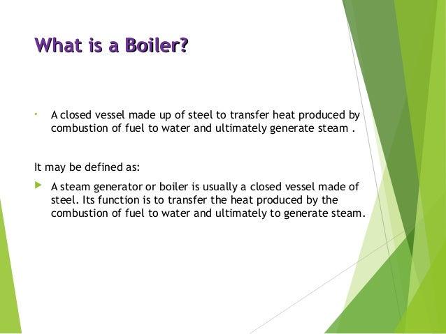 Boiler & It\'s Types