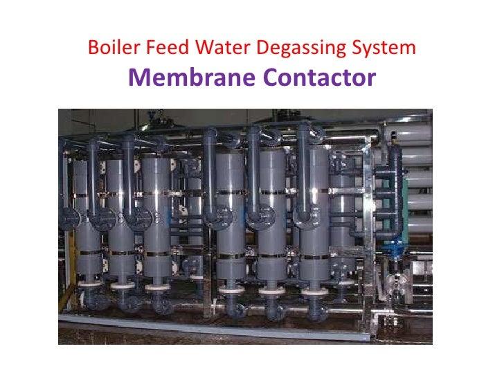 Boiler Feed Water ~ Boiler feedwater